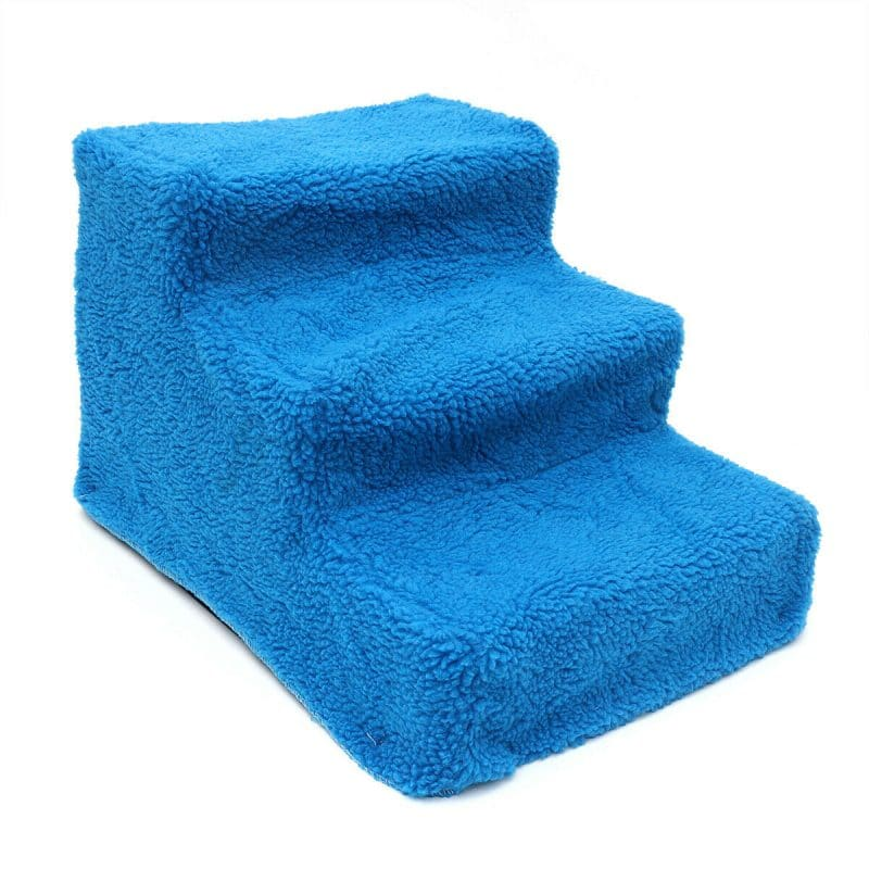 Dog ramps blue